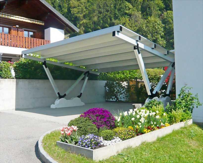 Устройство площадки под автомобиль — разновидности стоянок, выбор материалов постройки, пошаговая инструкция для начинающих (фото + видео)